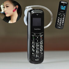 "Daxian 0.66"" Unlock Mobile Phone Bluetooth Headset Dialer GSM Cameras Cellphone"
