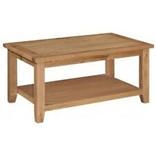 NEW CANTERBURY OAK COFFEE TABLE LOUNGE OCCASIONAL RUSTIC OAK HALLWAY M13