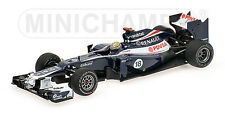 MINICHAMPS 120118 WILLIAMS FW34 F1 race car P Maldonado Winner Spain 2012 1:43rd