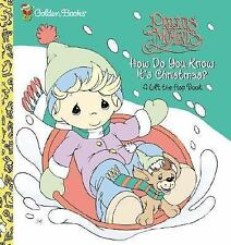 First Flaps: How Do You Know It's Christmas? by Golden Books Staff (2002,...