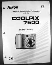 Nikon CoolPix 5700 Digital Camera User Guide Instruction  Manual