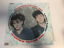 "12"" Album Vinyl Record * THE CURE - INTERVIEW PICTURE DISC *"