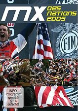 MX  DES NATIONS 2005 - OLYMPICS OF MOTOCROSS  DVD - FREE POST IN UK