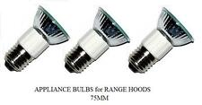 Pack of 3, LSE Lighting E27 50W Bulbs for Zephyr Milano Europa Hoods