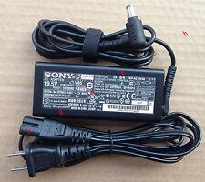 @Original Genuine OEM 65W 19.5V AC Adapter for Sony Vaio SVE1713BPXB Notebook PC