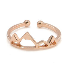 Elegant Women's Cute Lovely Mountain Adjustable Opening Ring Jewelry Hot Sale
