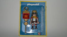 Playmobil Rome Soldier Legionnaire Roman with Banner y Weapons, WITHOUT OPEN