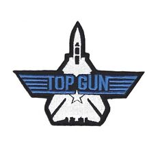TOP GUN NAVY HEAVY FIGHTER WEAPONS Embroidered Patch Iron Sew Logo Emblem Custom