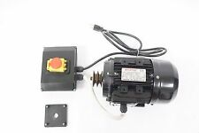 1.7hp 1.7 hp TechTop Electric Motor 120V W/Capacitors Switch Wires ETC