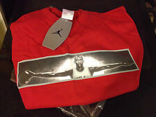 RARE NIKE AIR JORDAN WINGS SHIRT RED SIZE LARGE
