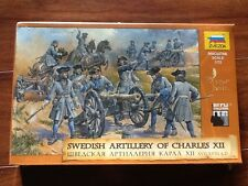 ZVEZDA 1/72  SWEDISH ARTILLERY OF CHARLES XII 17-18TH AD # 8066 FACTORY SEALED