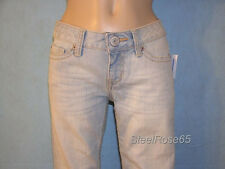 New Aeropostale Junior Girls Light Wash Hailey Skinny Flare Denim Jeans 5/6 L