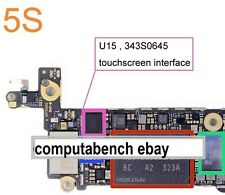 IC 343s0645 Pantalla Táctil para iPhone 5c/S totalmente nuevo para iPhone 5s Digitalizador