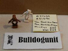 Lego Bionicle 51639 51640 Brown White Minifig Lot Toa Hordika Onewa Nuju