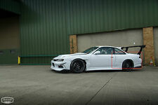 NISSAN 200SX 240SX S14/S14A RB LOOK REAR OVERFENDERS/WHEEL ARCH EXTENSIONS +8 CM