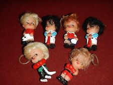 Kiddle Clone : Dolls - Hockey, Baseball, Tennis, Boxing, Soccor -  Girl Keychain