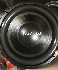 "Refurbished Memphis Mojo M5 15"" competition subwoofer,Rare,PSI,Dual 2 Ohm"