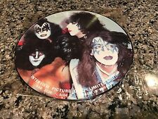 Kiss Interview Picture Disc! Limited! Aerosmith Motley Crue Def Deppard