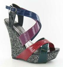 SALE! Ladies High Wedge Sandals / Party Shoes - Size 5 - NEW!!