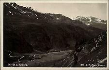 Stuben am Arlberg Österreich Vorarlberg ~1930/40 Alpen Foto Risch Lau ungelaufen