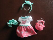 Kelly doll clothes brand New Chelsea 4ps Easter Dress set