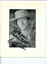 Brett Cullen Ghost Rider Falcon Crest Batman Dark Knight Rises Signed Photo