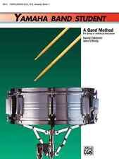 "YAMAHA BAND STUDENT ""PERCUSSION"" MUSIC BOOK LEVEL 1 SNARE/BASS DRUM ON SALE NEW!"