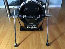 ROLAND KD-120 WHITE BASS DRUM V MESH PAD, GREAT CONDITION