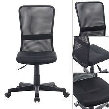 Christmas Promotion Sale Black Office Chair No Arm Best Gift for Student & Teen