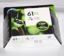 Genuine HP 61XL Tri Color Ink Cartridge Sealed Box 2/2018 CH564WN
