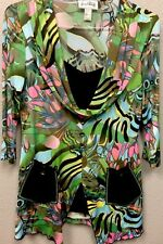 Joseph Ribkoff Tunic Top Sz 10 UK 12 Funky Boho H