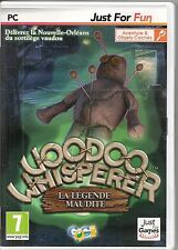 JEU VIDEO POUR PC--VOODOO WHISPERER LA LEGENDE MAUDITE