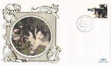 (80943) Netherlands Benham FDC Cats - 22 September 1998