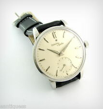 Vintage Watch...ZENITH SPORTO ....In House....SSteel....50's....Nice!!