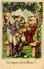 CATS PC Ce coquin d'vin blanc !... (a2114)