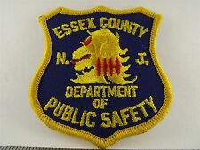 ESSEX COUNTY NEW JERSEY NJ  DEPARTMENT OF PUBLIC SAFETY Iron on Patch NEW