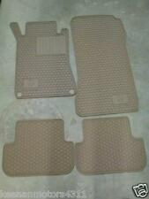 Genuine OEM Mercedes Benz CLK Class A209 C209 Beige Rubber All Season Mats