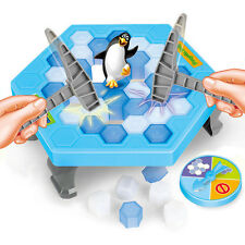 Save the Penguin on Ice Game Break Ice Block Hammer Penguin Trap Family Game Toy