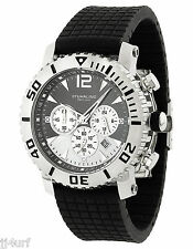Stührling Original Men's Mariner Chronograph 806C.331613 Rubber Strap Watch