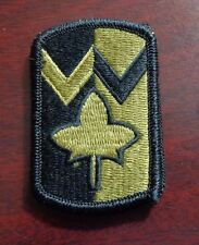 U.S. ARMY PATCH, SSI, SCORPION,MULTICAM, 4TH SUSTAINMENT BRIGADE,WITH VELCRO