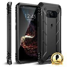 Poetic For Samsung Galaxy S8 Shockproof Case [Revolution Series] Rugged Cover BK