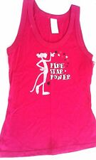 PINK PANTHER WOMEN'S SHIRT TANK TOPS JUNIORS MEDIUM NWT