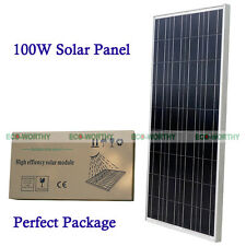 100W Solar Panel 100W Power Module for 12V Caravan Car Boat Battery Charger