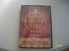 TIME LIFE COUNTRY LEGENDS LIVE VOLUME 1 DVD BRAND NEW IN PACKAGE