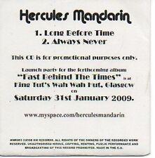 (296C) Hercules Mandarin, Long Before Time - DJ CD