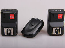 PT-04 4 Channels Wireless Flash Trigger+2 Receivers for Yongnuo Canon Nikon