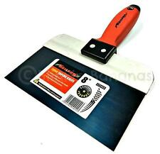 "FLEXIBLE CUSHION GRIP 8"" PLASTERER PLASTERING DRYWALL JOINT TAPING FILLING KNIFE"