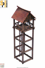 Japan WATCHTOWER SAMURAI/ JAPANESE 28mm Laser cut MDF scale Building B019