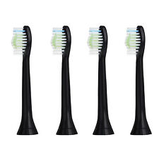 8x Fit Black Philips Sonicare HX6064 Diamond Clean Replacement Toothbrush Heads