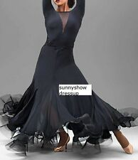 Tassel Latin Dance Dress Clothing Salsa Costume Ballroom Competition Skirt/6